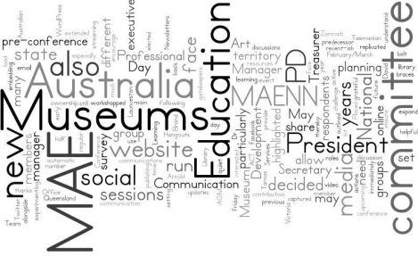 2013 MAE Report Wordle